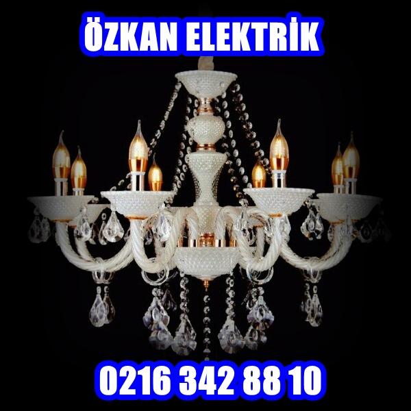 Üsküdar Avize Montajı Arıza - Üsküdar Elektrikçi - 0216 342 88 10